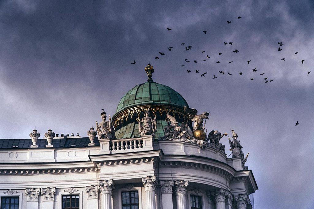 Vienna old building