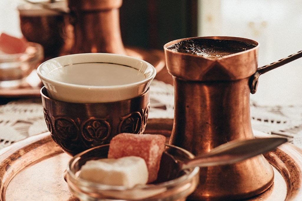 Bosnian Turkish coffee in Sarajevo