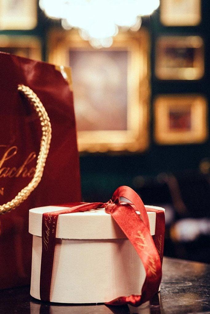 SAcher cake gift