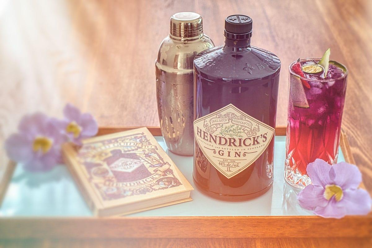 Hendricks gin cocktail unicorn cocktail