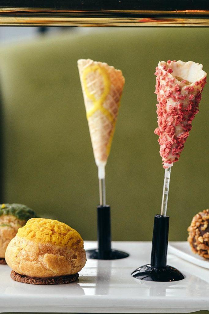 Arteastiq high tea - sweet cones