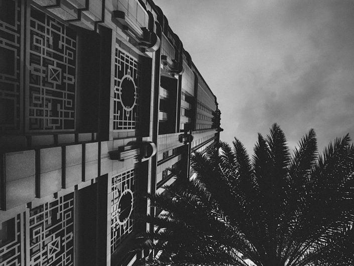 modern art deco building Parkview Square