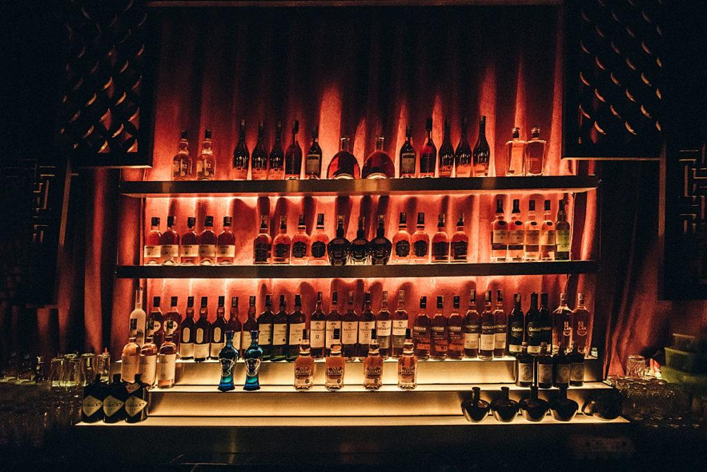 Hidden bar