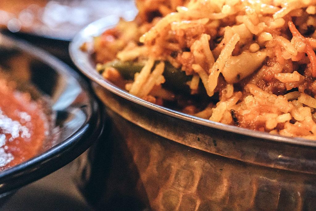 Briyani rice