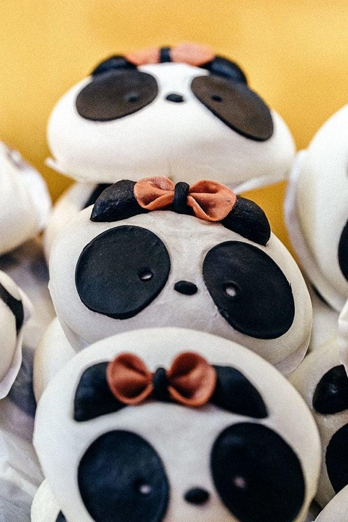 Buns like panda
