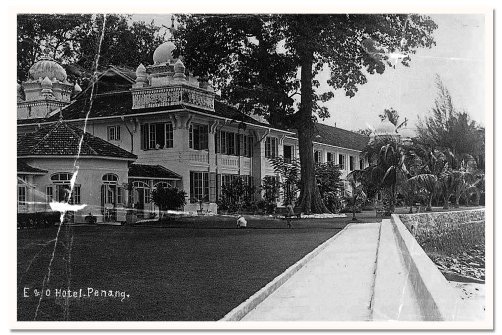 Eastern & oriental hotel old photo