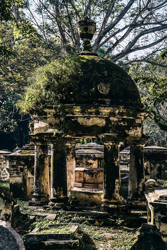 Cemetery in Penang