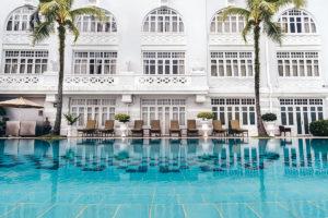 E&O Hotel pool