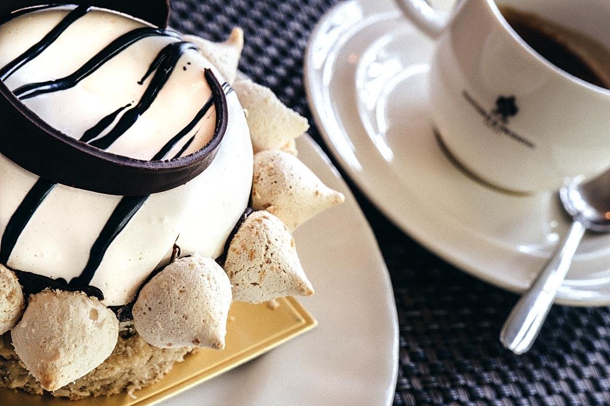 Coconut Gula Melaka dessert
