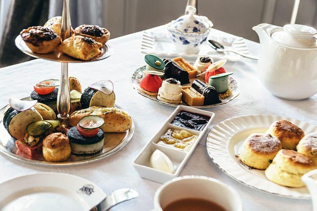 Eastern & Oriental afternoon tea set