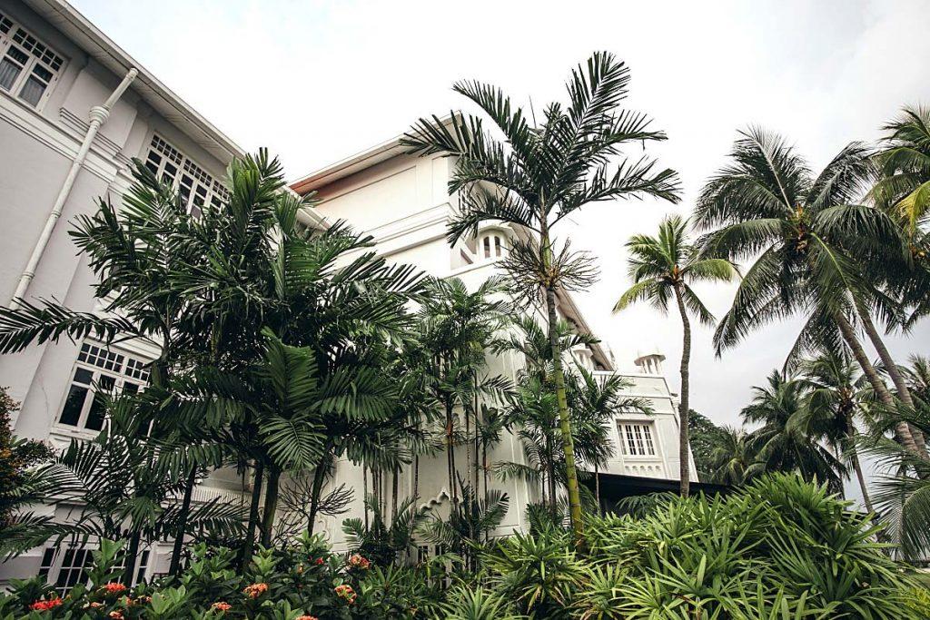 Eastern&Oriental hotel outside