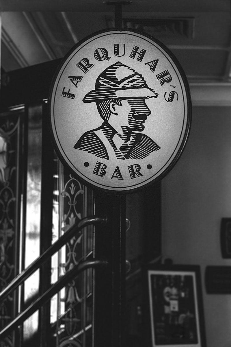 Farquhar's Bar Eastern & Oriental Hotel