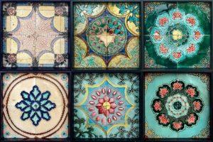 Peranakan ornament tiles