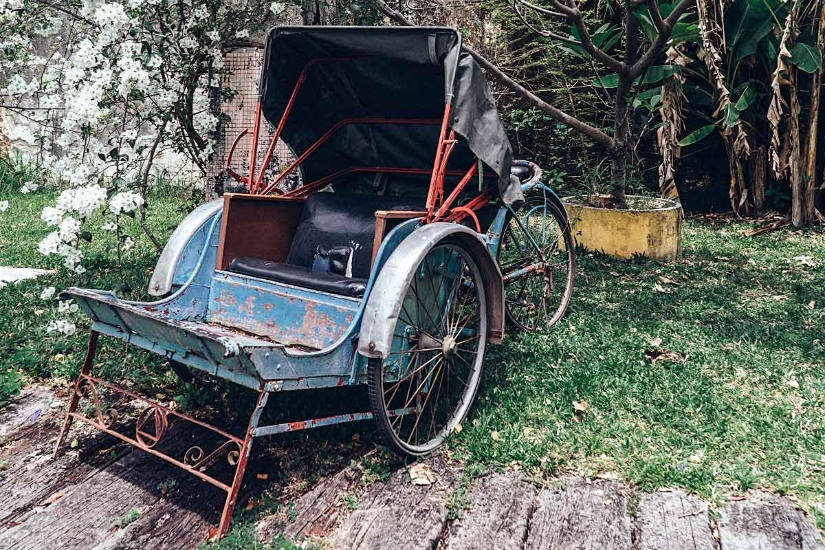 Rickshaw for photos