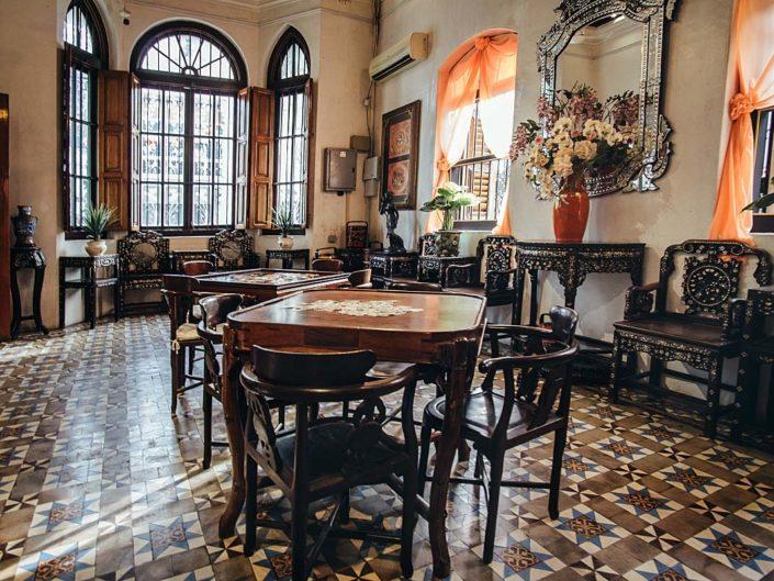 Peranakan dining room