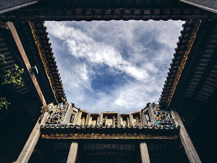 Open roof skylight