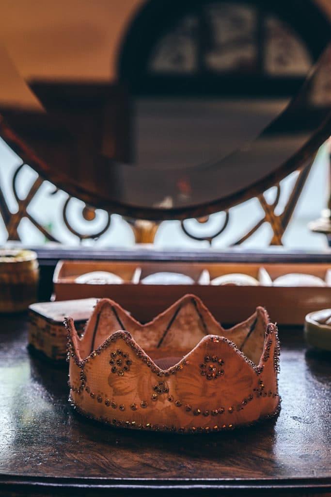 silk crown
