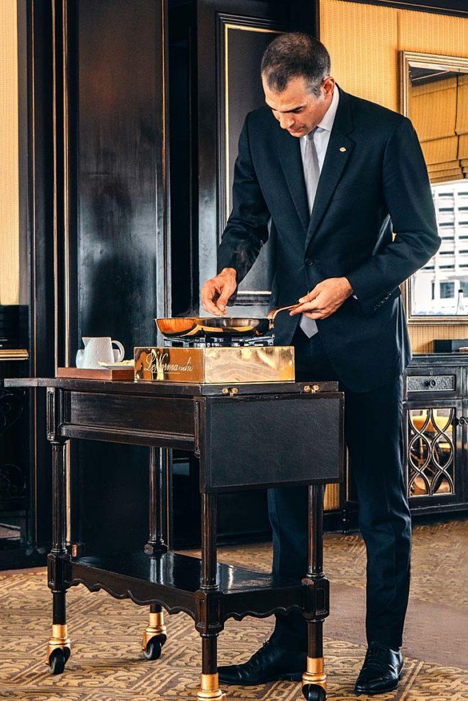 Le Normandie - maître d'hôtel