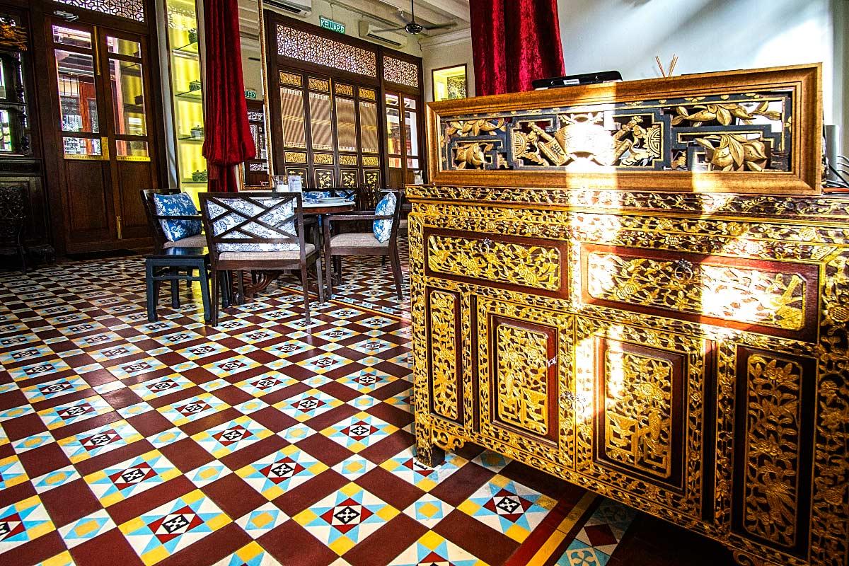 inside kebaya dining room penang malaysia