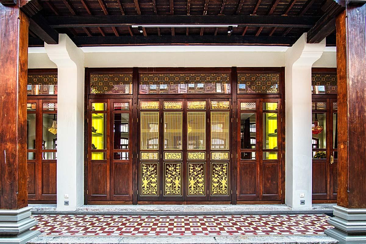 peranakan doors