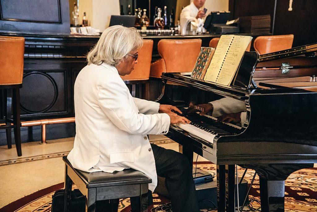 Pianist at The Majestic Hotel Kuala Lumpur