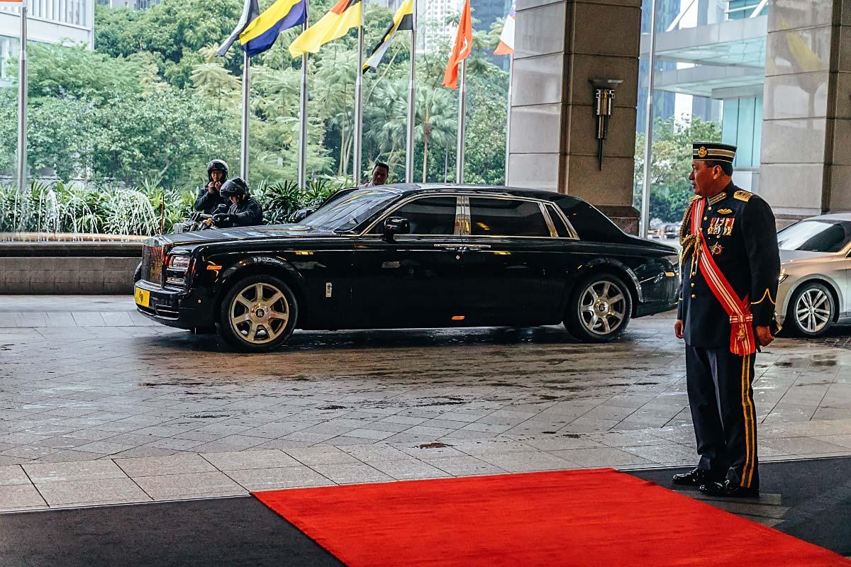 King of Malaysia