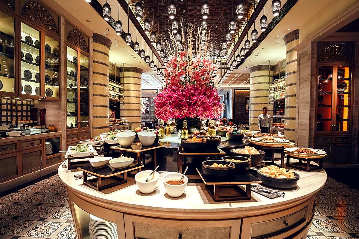 Mandarin Oriental Mosaic Buffet