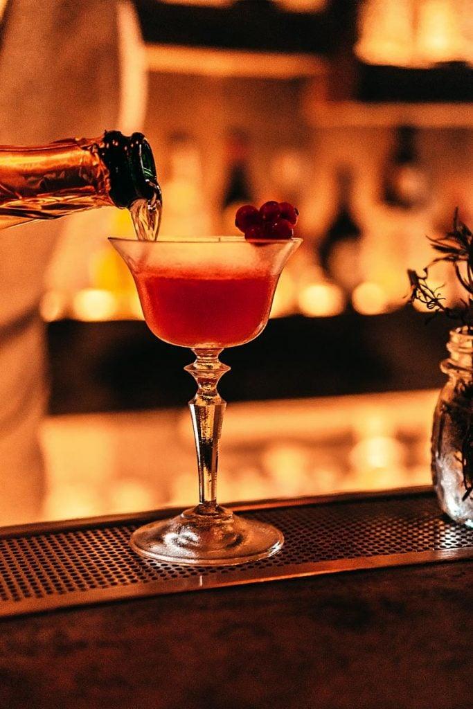 Cocktail in progres