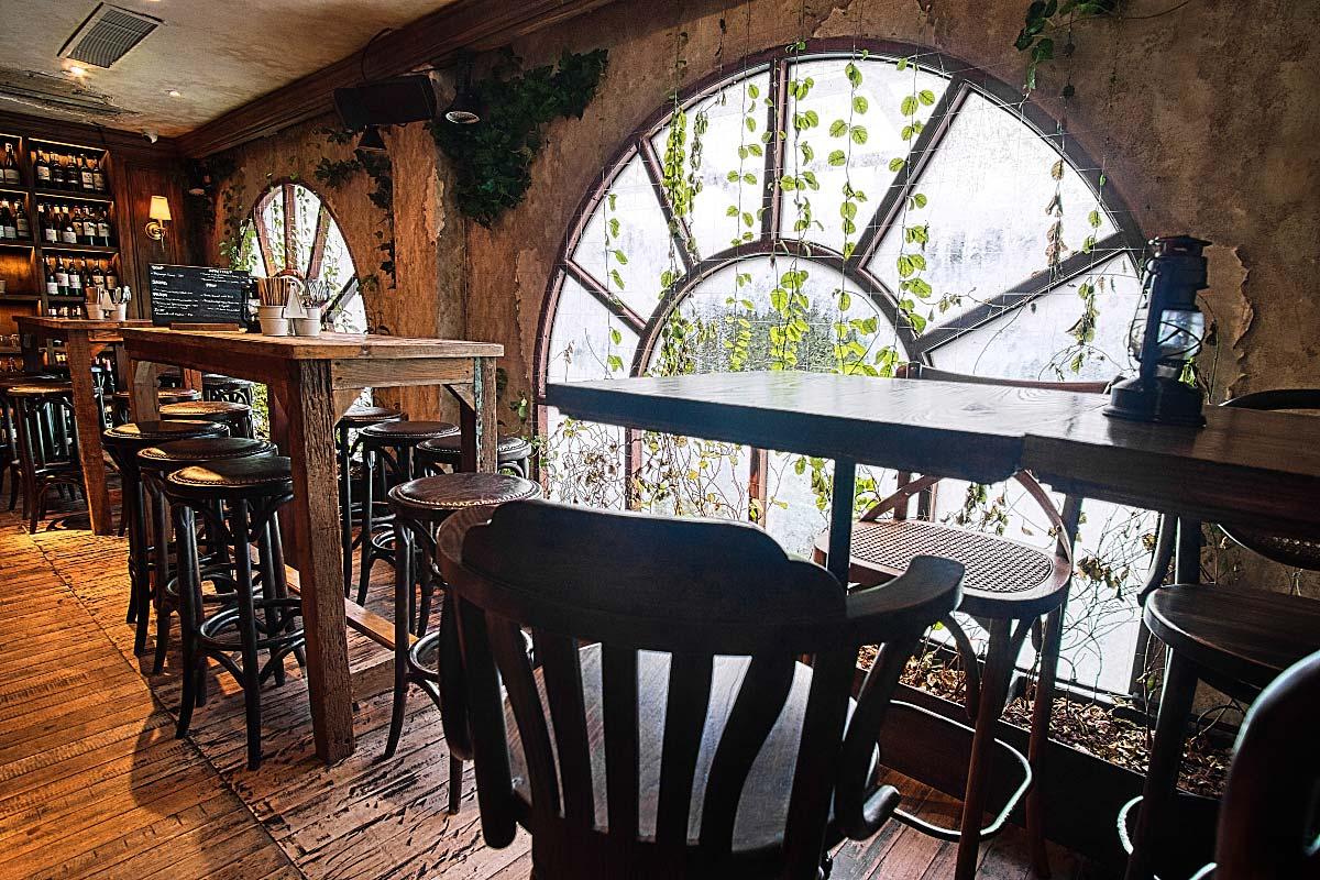 Upstairs bar BKK