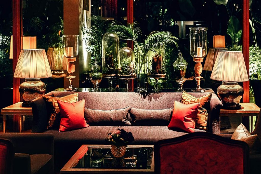 Mandarin Oriental Lobby decor