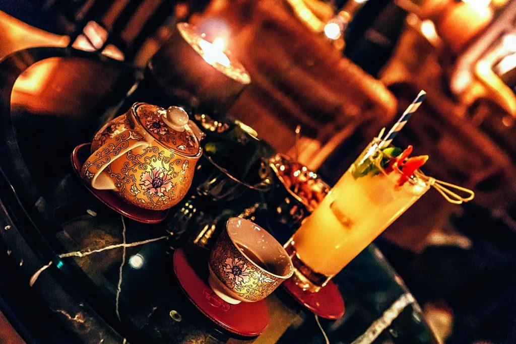 Mocktails at Bamboo Bar Mandarin Oriental Bangkok