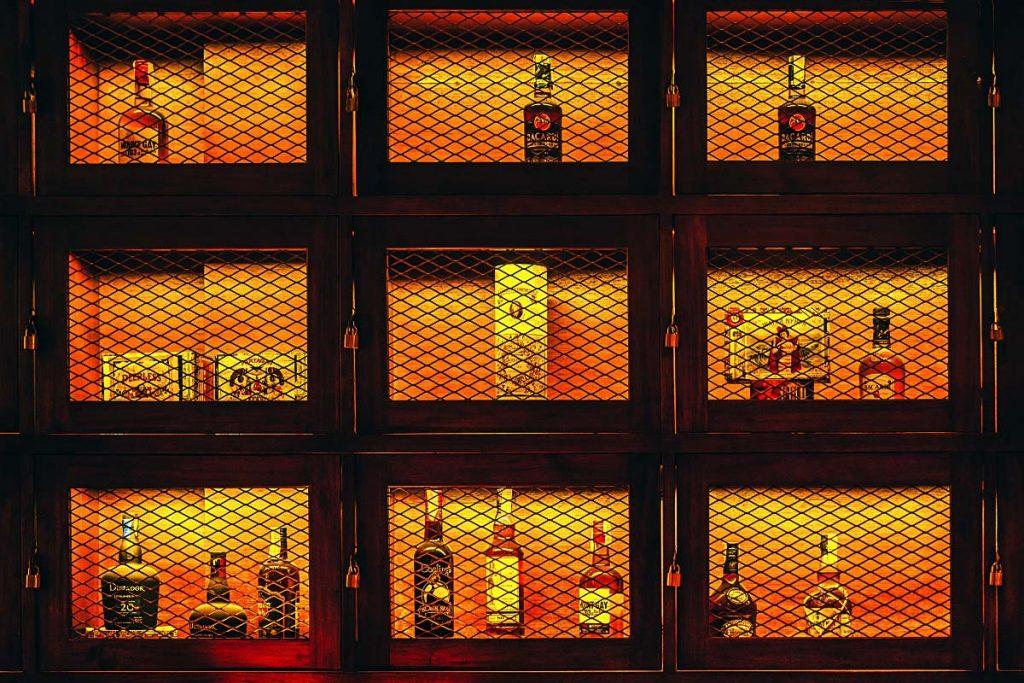 drinks display