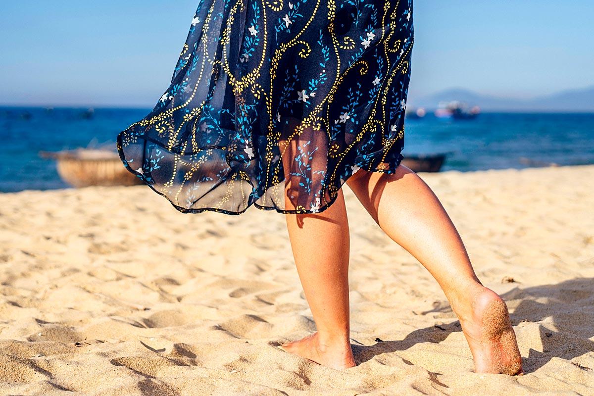 sandy beach new dress