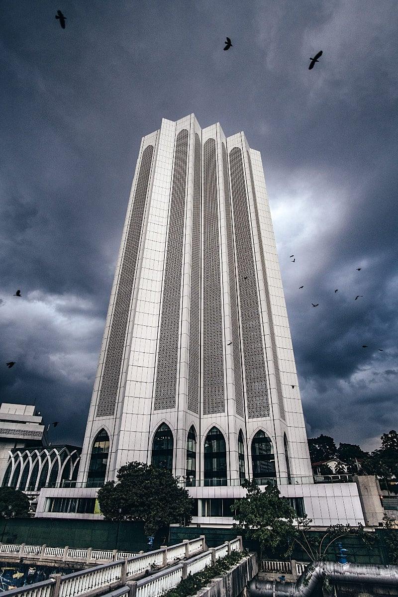 dayabumi complex white building kl