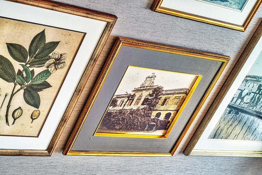 Old photo of original Oriental hotel in Bangkok