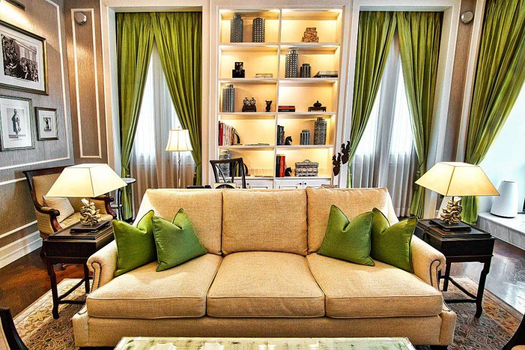 Mandarin Oriental Bangkok exclusive suite