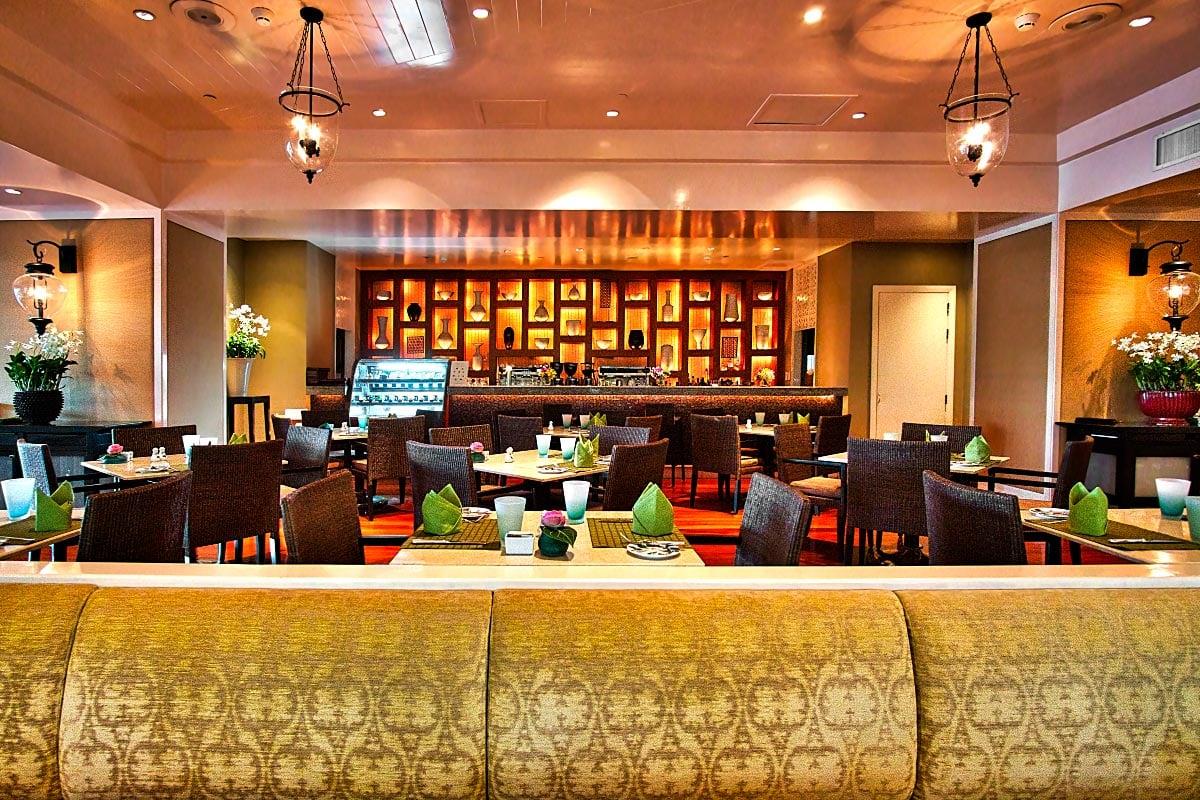 Mandarin Oriental Verandah restaurant