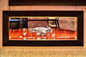 reflecting restaurant image