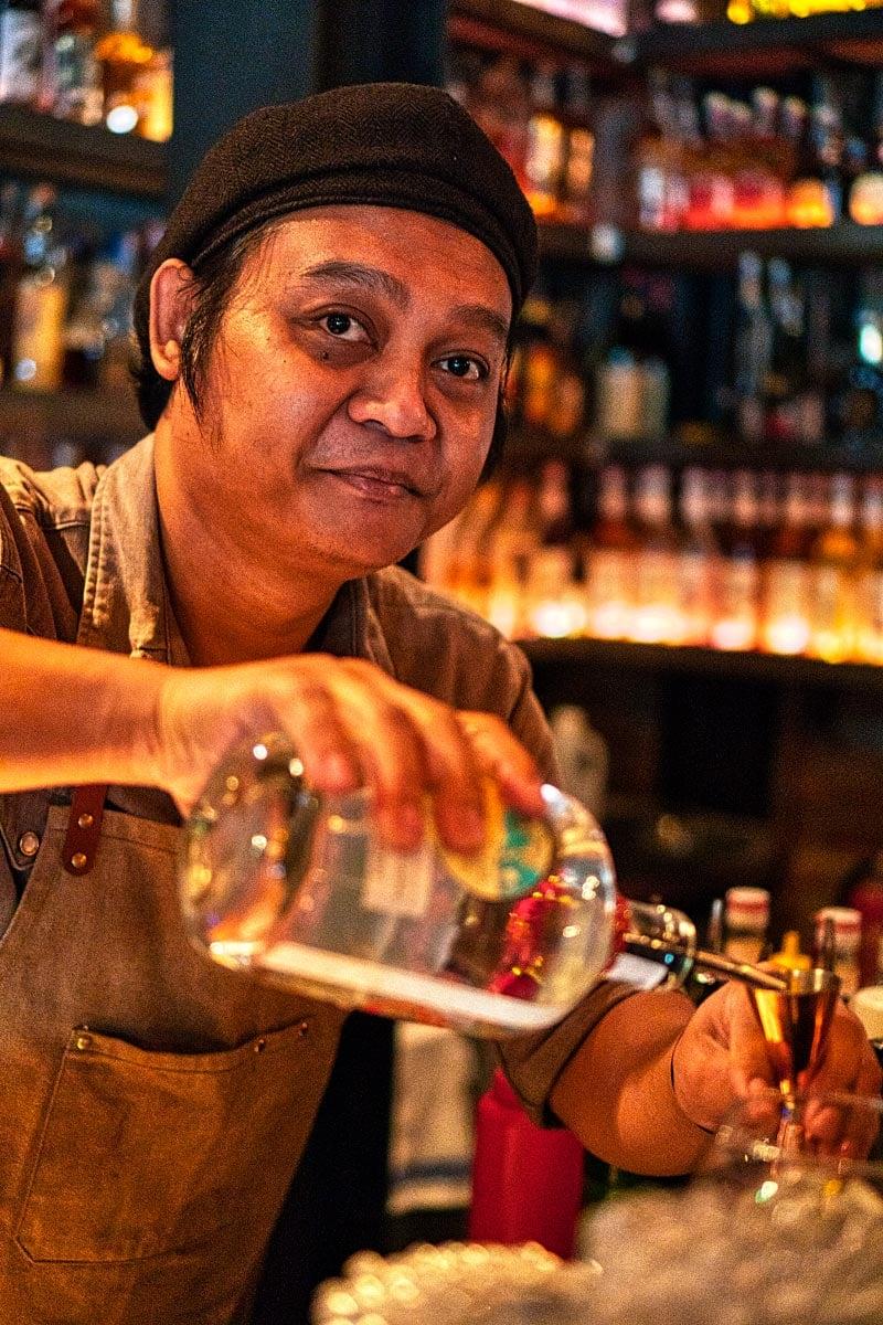 Bartender at Iron Fairies Kuala Lumpur