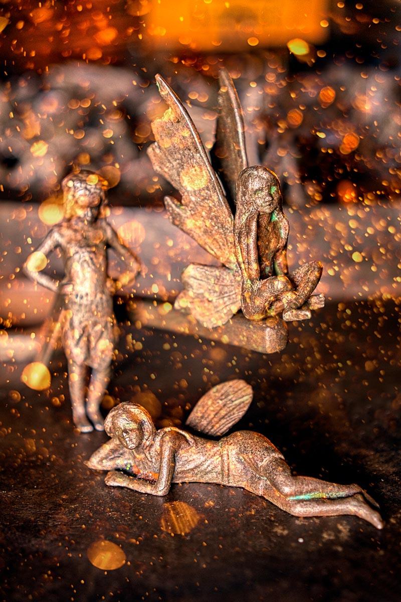 Iron Fairy figures