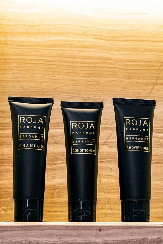 Four Seasons KL toiletries Roja Parfums bergamot