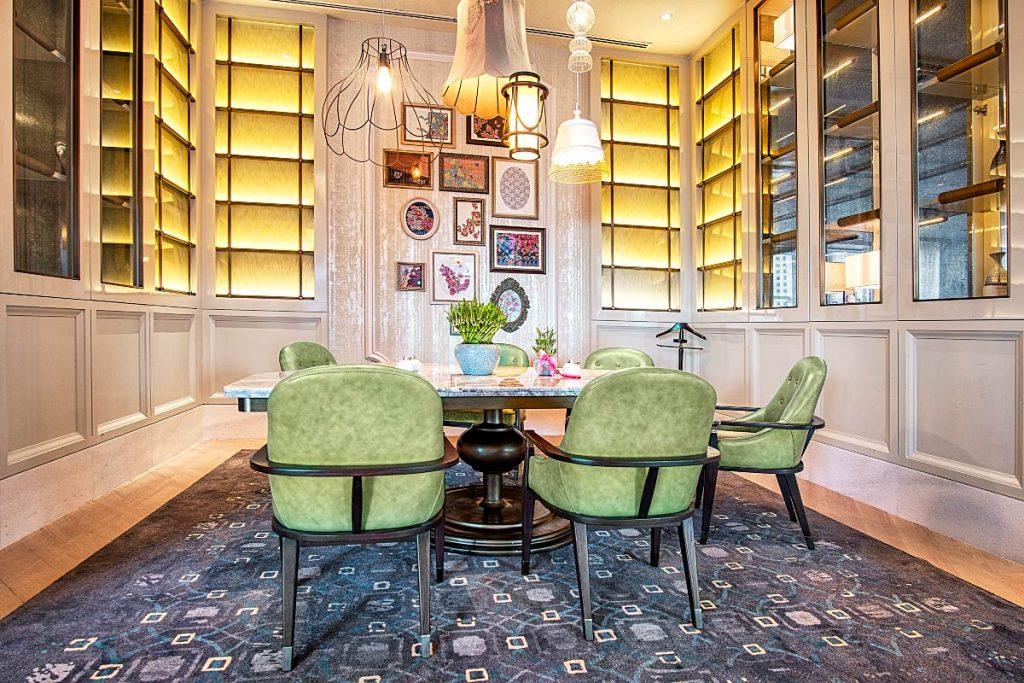 the lounge Four Seasons KL