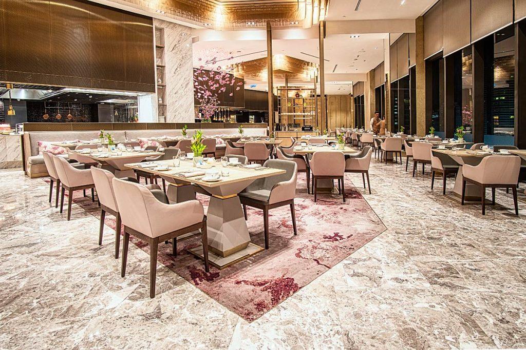 Curate Four Seasons restaurant