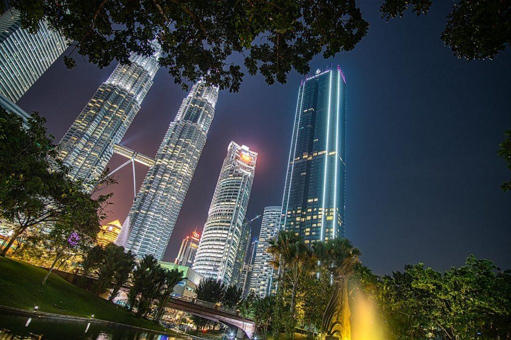 Petronas towers and Four Seasons KL