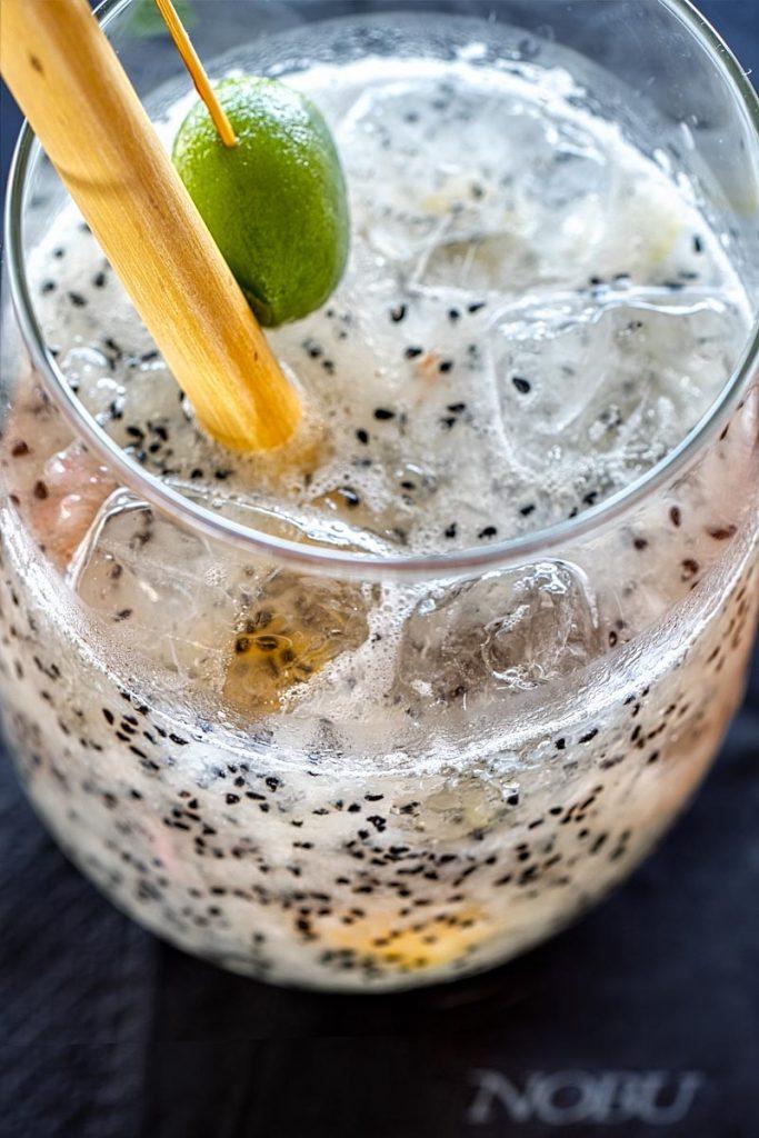 Nobu Dragonfruit cocktail