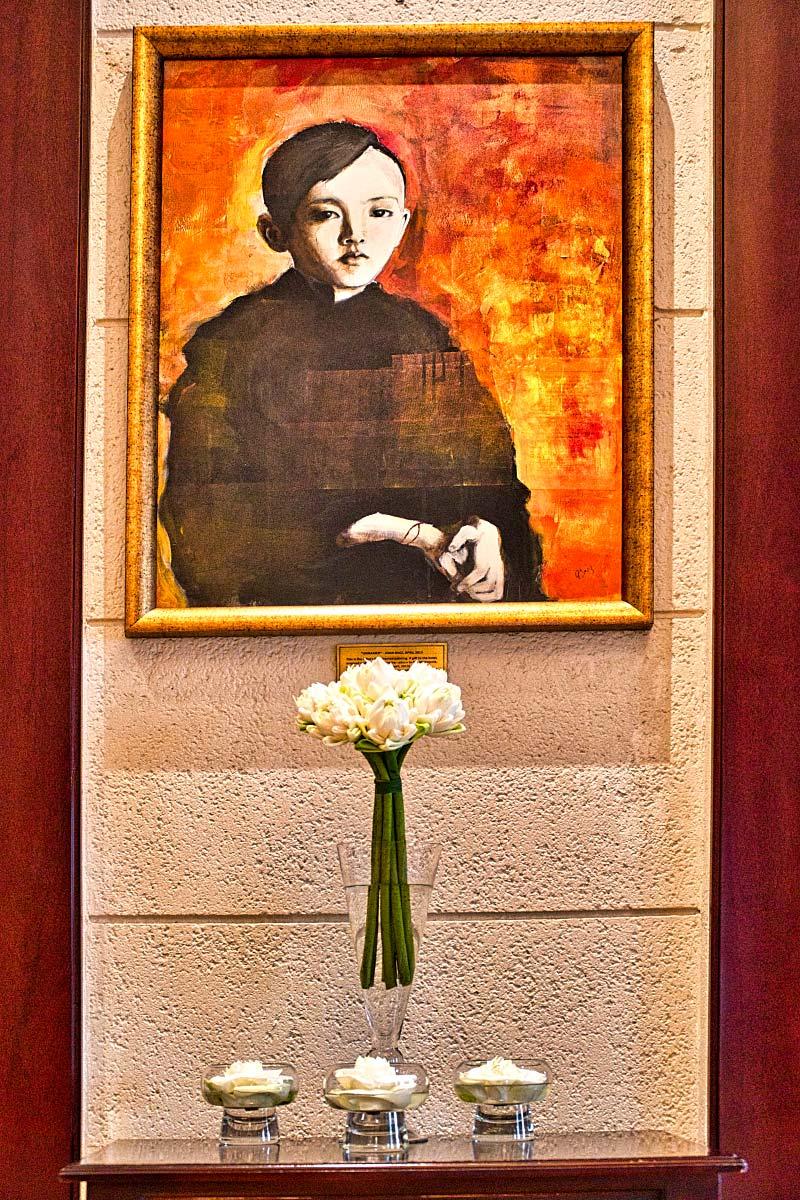 Joan Baez painting