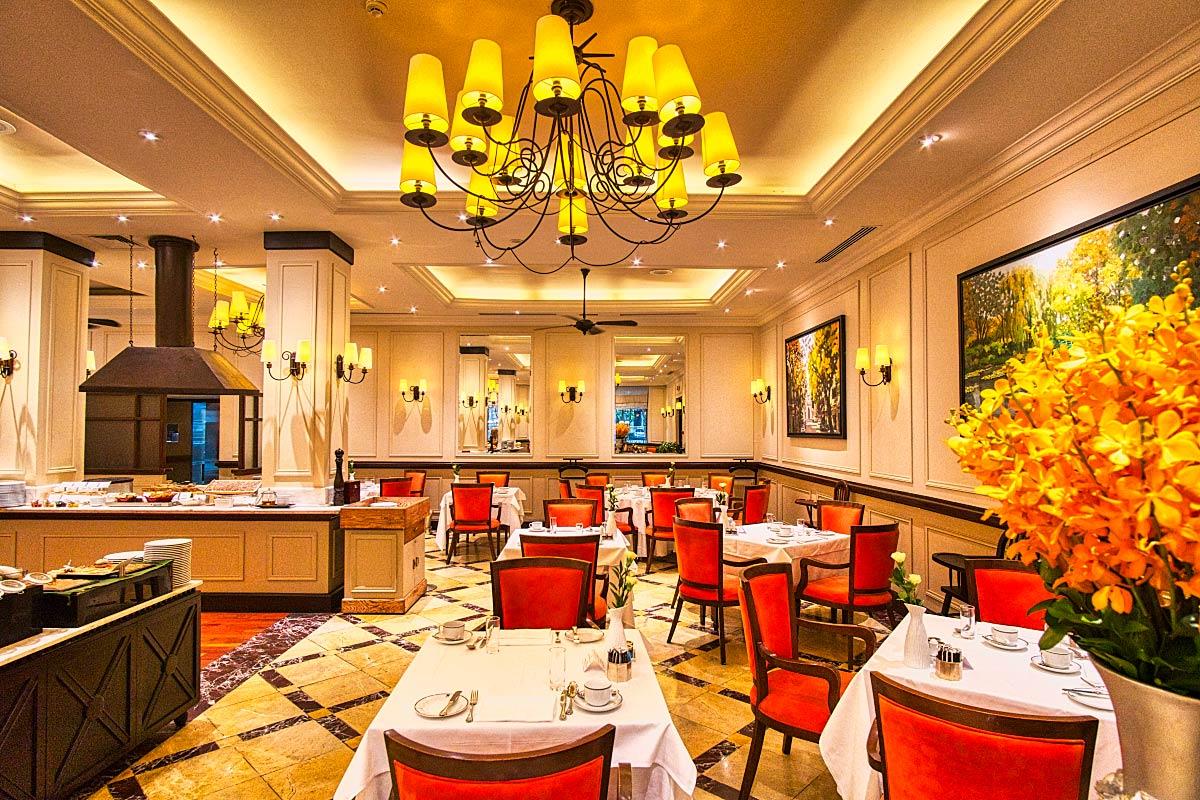le Beaulieu restaurant at Sofitel Metropole Hanoi Hotel