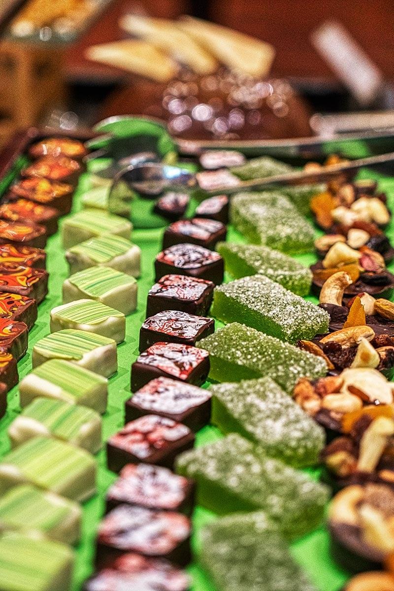 Sofitel Metropole handmade chocolate