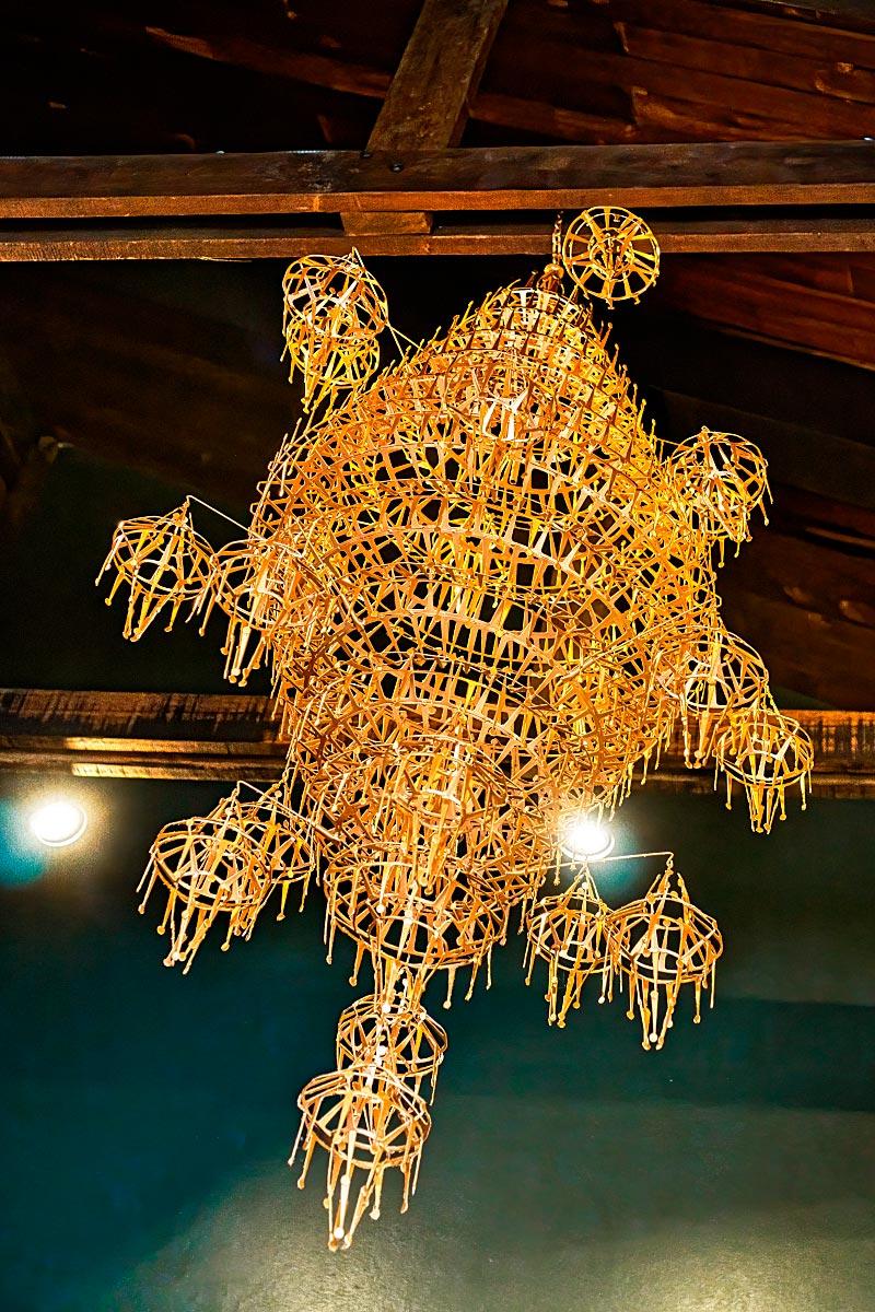 Thai chandelier