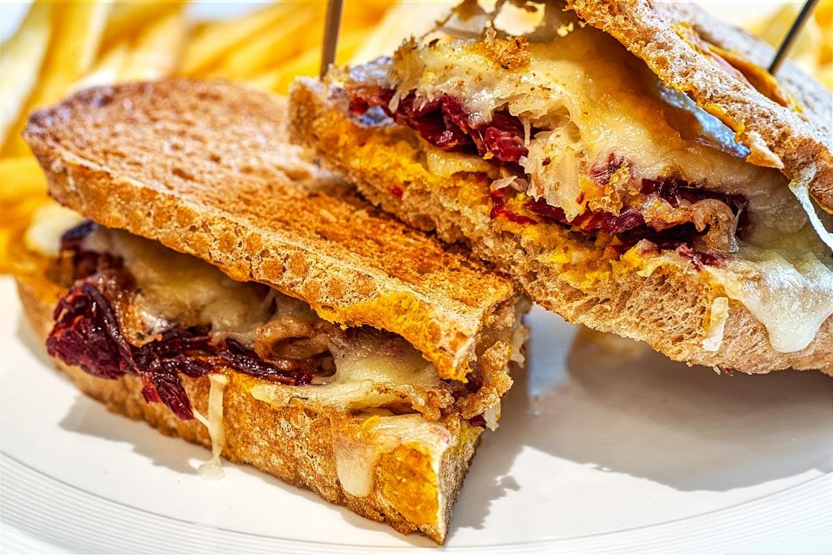 rye bread sandwich